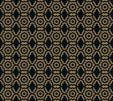 Vektor nahtlose Muster. Moderne stilvolle Textur. Sich wiederholende trendige geometrische Fliesen mit Sechskantlinie.