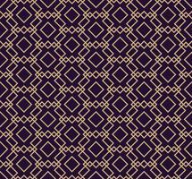 Vektor nahtlose Muster. Moderne stilvolle Textur. Geometrischen Hintergrund wiederholen. Lineares Grafikdesign.
