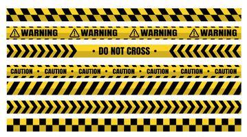 Farliga varningsbandssatser måste vara försiktiga för konstruktion och brottslighet.