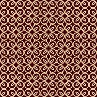 Seamless geometrisk linjemönster. Samtida grafisk design. Ändlös linjär struktur för tapeter, mönster fyllningar, webbsidor linje bakgrund. Monokrom guldbrun geometrisk prydnad