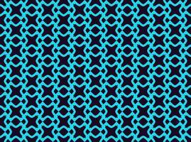 Seamless geometriska linjer prydnad mönster, linjärt mönster med tunn elegant blå färg prydnadsföremål tapeter.