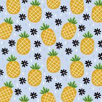 Ananas mönster av sommar