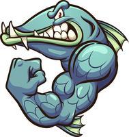 Stark Barracuda Mascot