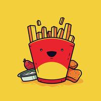 Fast-Food-Vektor