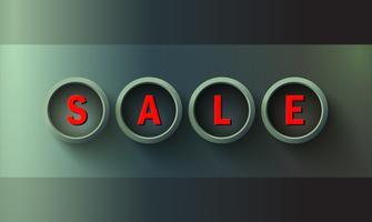 Verkauf Banner Vorlage vektor