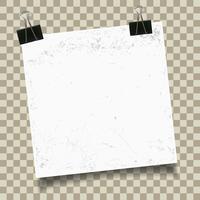 Tappning konsistenspapper vektor