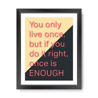 Citat motivational square