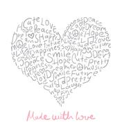 Gjord med kärleksdesign