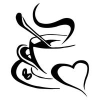 Kaffee-Logo vektor