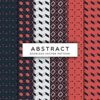 Abstrakt sömlösa vektor mönster uppsättning