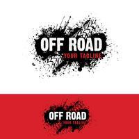 Bilvägsväg Logo vektor