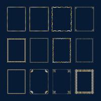 Luxus ornamentalen Hintergrund. Golddamast-Blumenmuster. Königliche Tapete. vektor