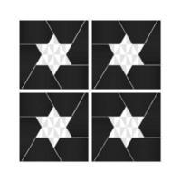 abstrakte Sternvektorpackung