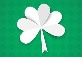 Glad St. Patrick Dag Vektor Bakgrund