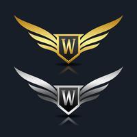 Brev W emblem Logo