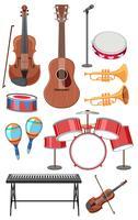 Sats av musikinstrument