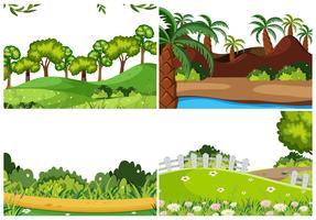 Satz von Naturlandschaft