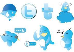 Twitter vektorer