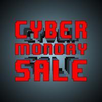 Cyber Montag Verkauf vektor