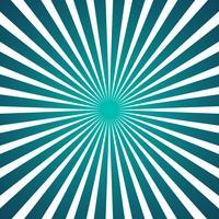 Radial strålar bakgrund vektor