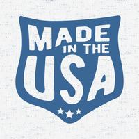 Vintage USA stämpel vektor