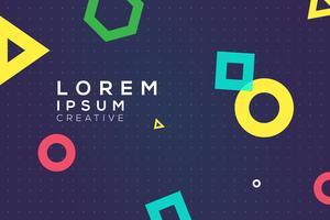 Spaßform Design-Hintergrund vektor