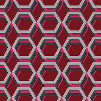 Hexagon sömlöst mönster