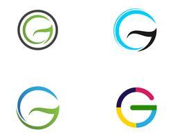 G-Logo Buchstaben und Symbole Vorlage Symbole AppG-Logo Buchstaben und Symbole Vorlage Symbole App vektor