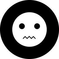 Vektor Silent Emoji Ikon