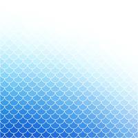 Blaues Dachplatte-Muster, kreative Auslegung-Schablonen vektor