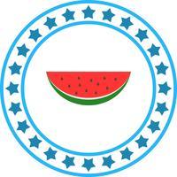 Vektor-Wassermelonen-Symbol vektor
