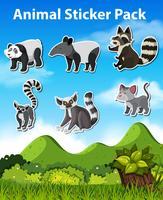 Ange djurklisterpaket