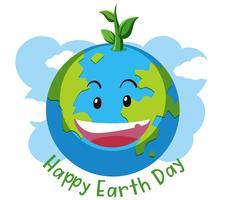 Happy Earth Day-Konzept