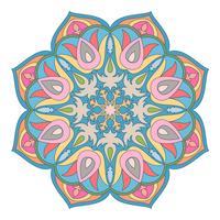 Orientaliskt dekorativt element. Islam, arabiska, indiska, osmanska motiv.