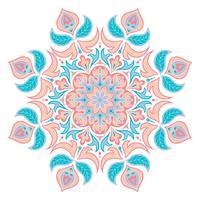 Orientalisches Dekorationselement. Islamische, arabische, indische, osmanische Motive.