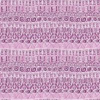 Ethnisches Stammes- festliches Muster für Gewebe, Tapete, Scrapbooking. vektor