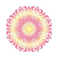 Vektor Mandala Verzierung. Vintage dekorative Elemente. Orientalisches rundes Muster. Islamische, arabische, indische, türkische, pakistanische, chinesische, osmanische Motive. Hand gezeichneter Blumenhintergrund.