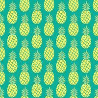Ananas vektor bakgrund. Ananas sömlös mönster. Ananas textilmönster. Ananas upprepande bakgrund, Sommarfärgad ananas textiltryck. Ananas bakgrund för scrapbooking.