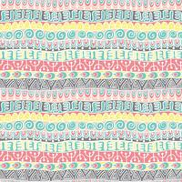 Etnisk tribal festligt mönster för textil, tapeter, scrapbooking.