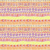 Ethnisches Stammes- festliches Muster für Gewebe, Tapete, Scrapbooking. Abstraktes geometrisches buntes nahtloses Muster. Ethnisches Stammes- festliches Muster für Gewebe, Tapete, Scrapbooking. Abstraktes geometrisches buntes nahtloses Muster.