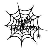 Bakgrundsbild för att dekorera dina idéer i firandet av Halloween. vektor