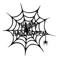 Hintergrundbild für die Dekoration Ihrer Ideen zur Feier von Halloween. vektor