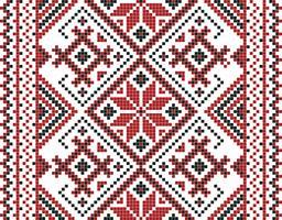 Vektor illustration av ukrainska prydnad sömlös. För tapeter, textilier, kort