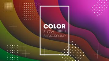 Färggradient bakgrunds tapet design