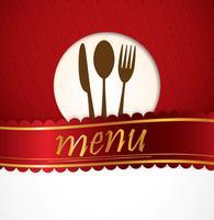Restaurant Menügestaltung