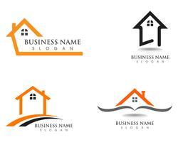 Haus und Haus Logos Vorlage Vektor