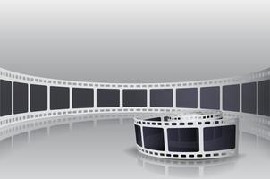 Kamera Film Roll Set vektor