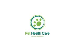 Haustier-Gesundheitspflege-Logo vektor