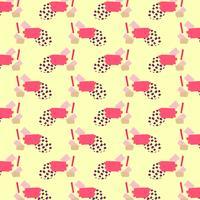 Nahtlose Muster abstrakt geometrisch