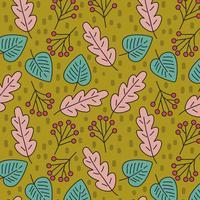 Lässt Muster des Herbstes